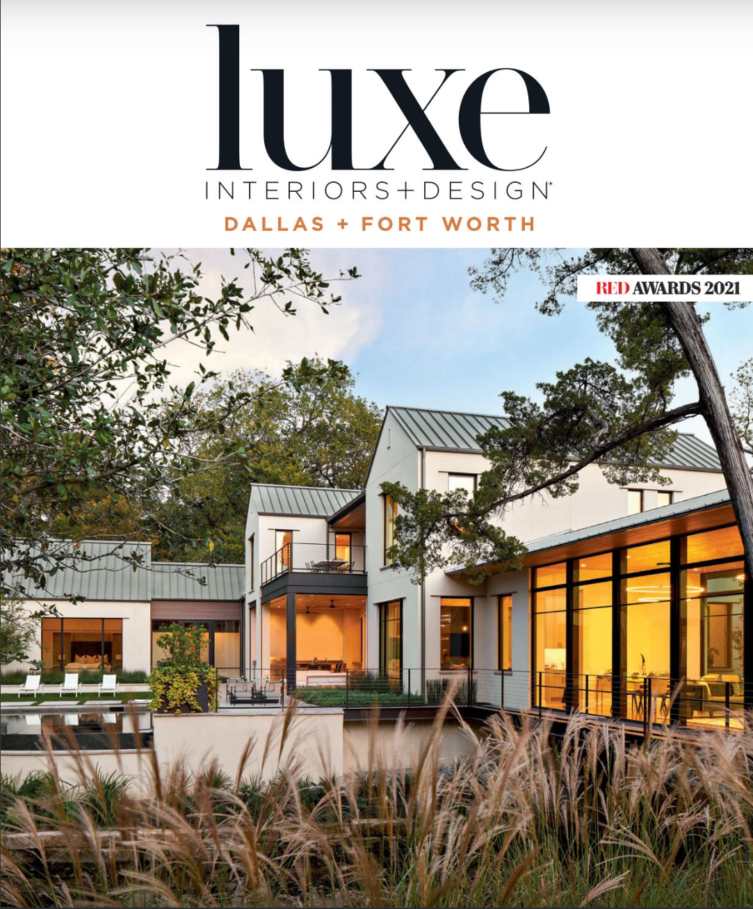 Luxe Interiors and Design Cover